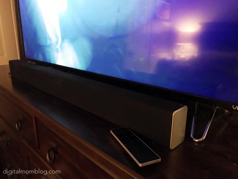 Vizio Smartcast Wireless Sound Bar under TV