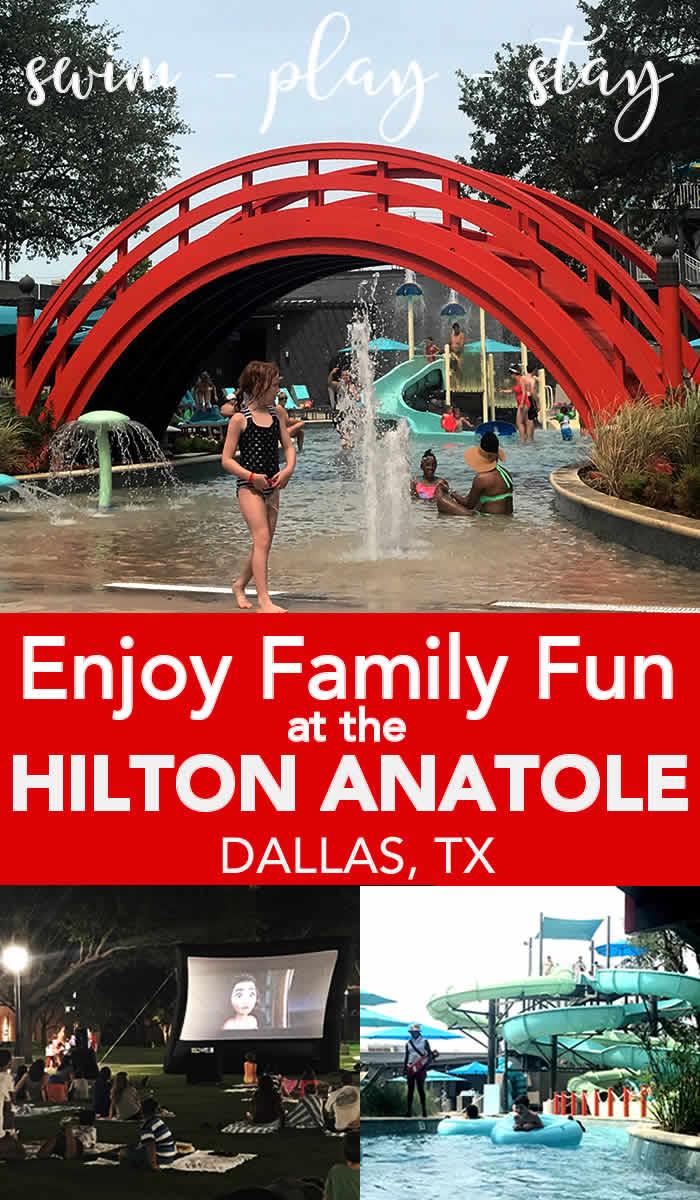 Enjoy a family vacation at the hilton anatole dallas