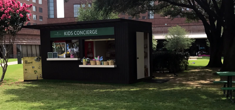 kids concierge at the hilton anatole dallas