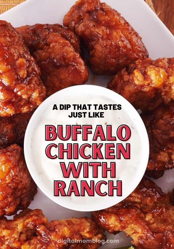 buffalo ranch chicken dip recipe