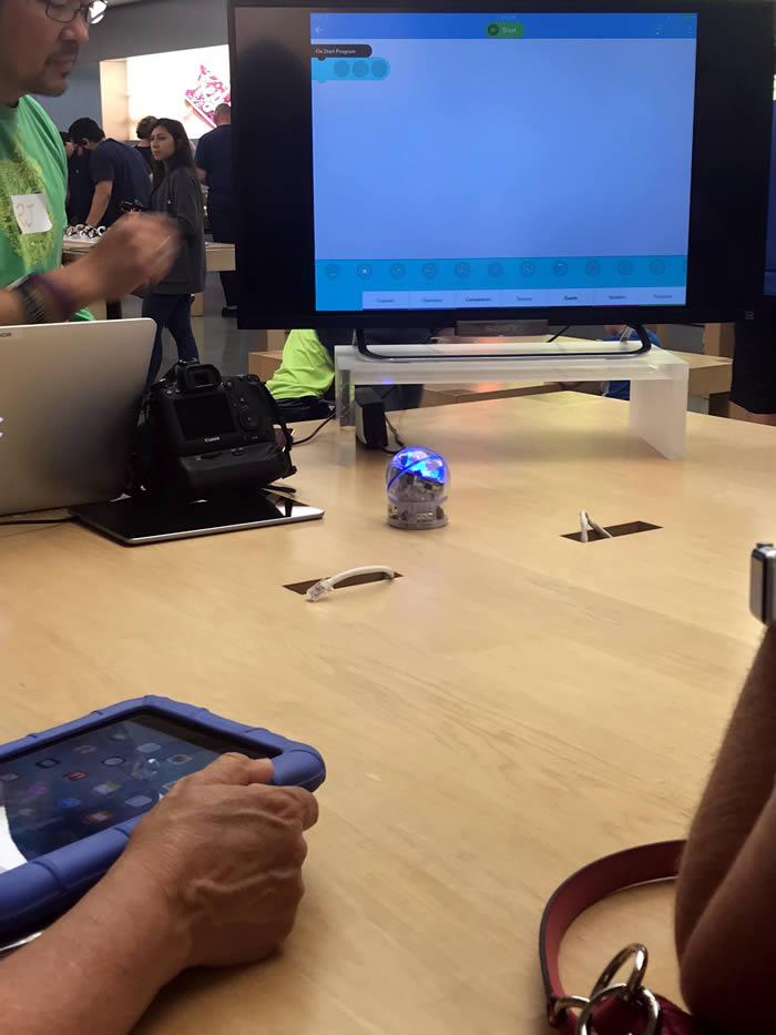 Apple genius teaching parents