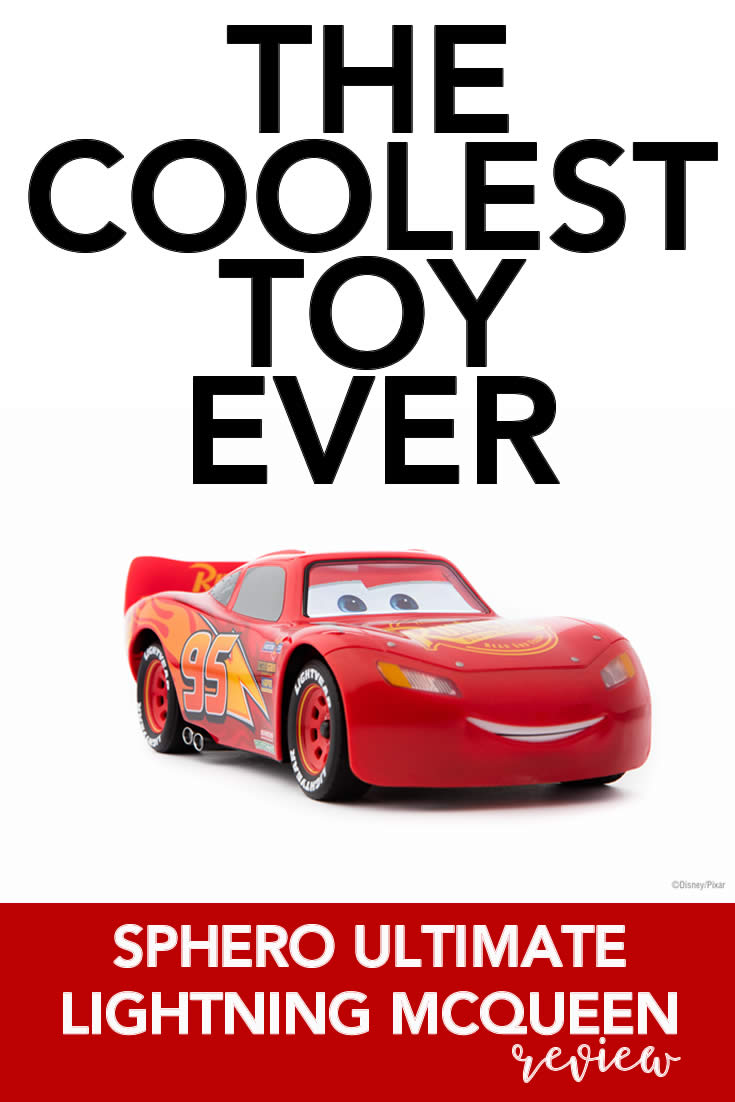 Ultimate Lightning McQueen Car