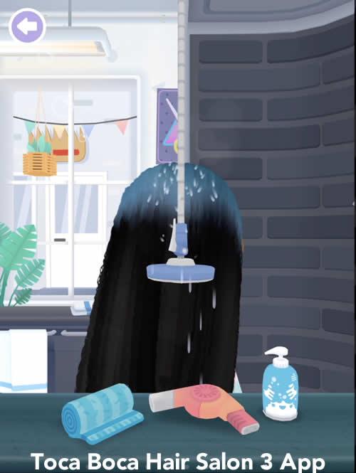 hair salon app for kids