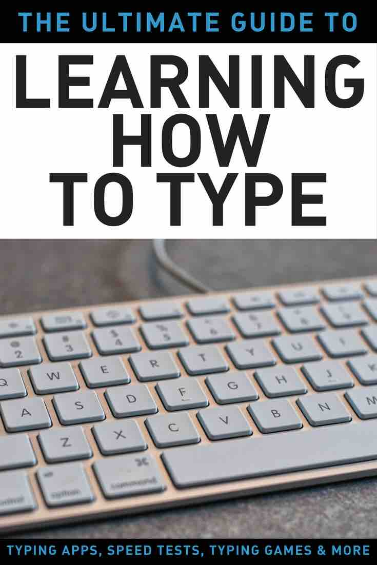 GUIDE TO LEARN HOW TO TYPE