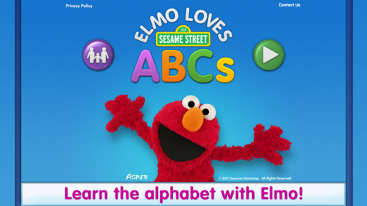 elmo loves abc speech therapy apps