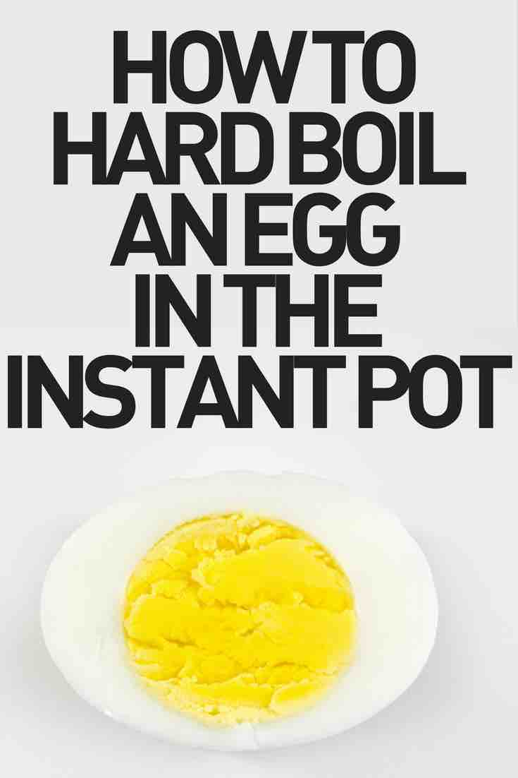 photo of hard boiled egg - how to hard boil an egg in the instant pot
