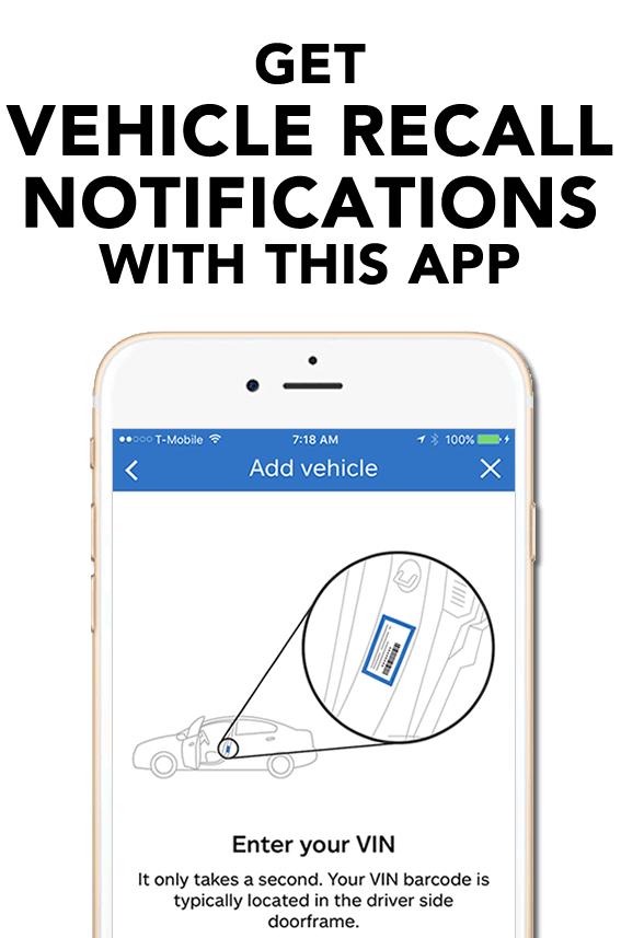 QuickTrip App - Recall Notifications