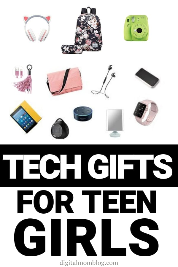tech Teen girl gift ideas instax laptop backpack lightning charger kindle bluetooth speaker
