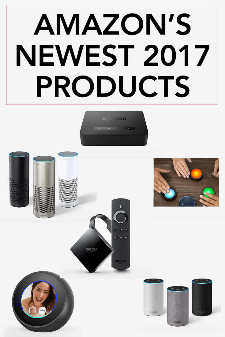 New 2017 Amazon Products Devices