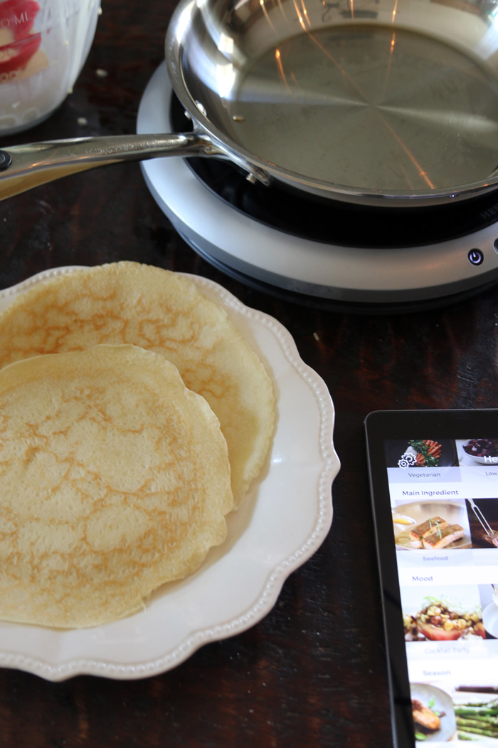 Perfect Crepes using the Hestan Cue