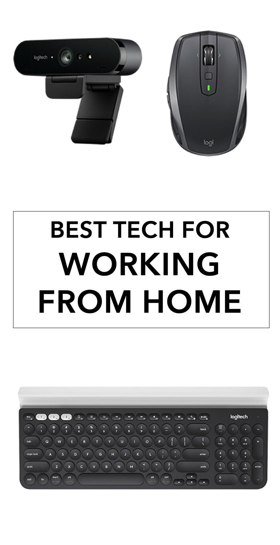 work from home tech logitech
