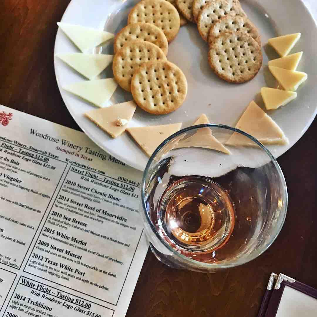 Sweet muscat woodrose winery texas wines