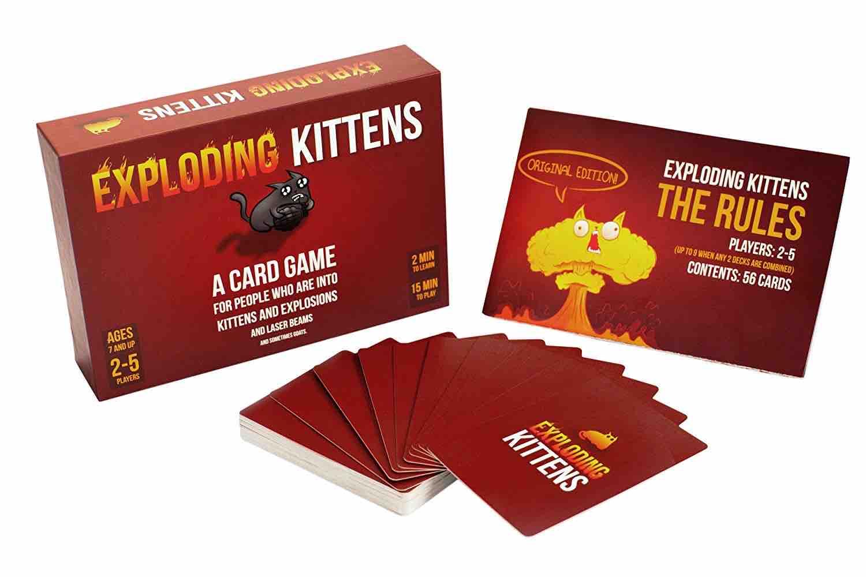 Exploding Kittens Family Card Game