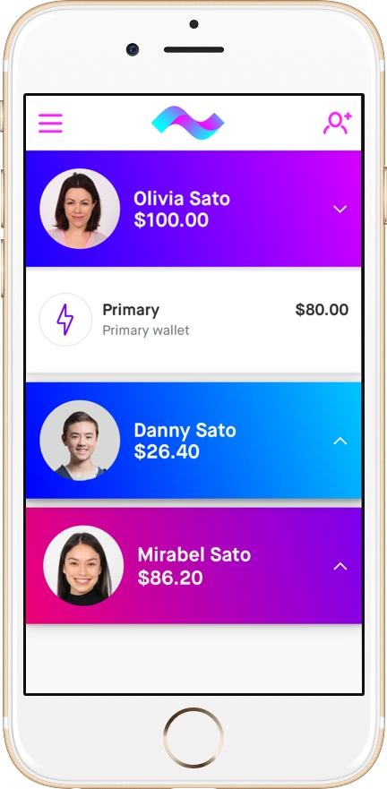 Current Debit Card App for Parents