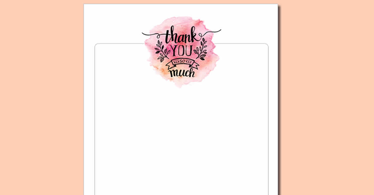 graphic about Thank You Notes Printable named Cost-free Thank On your own Printable and Thank On your own Notice Hack!