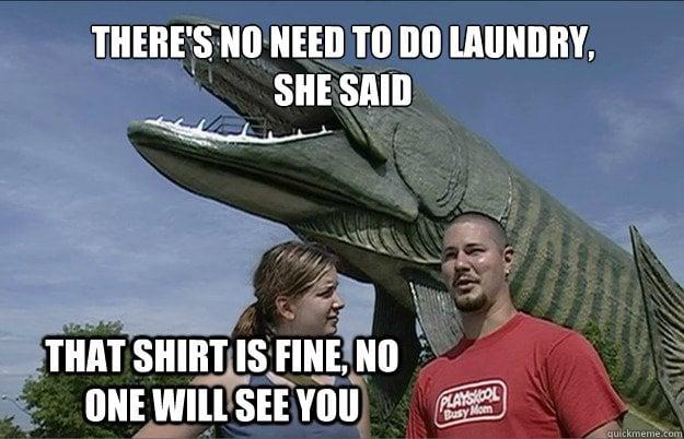no clothes – laundry memes