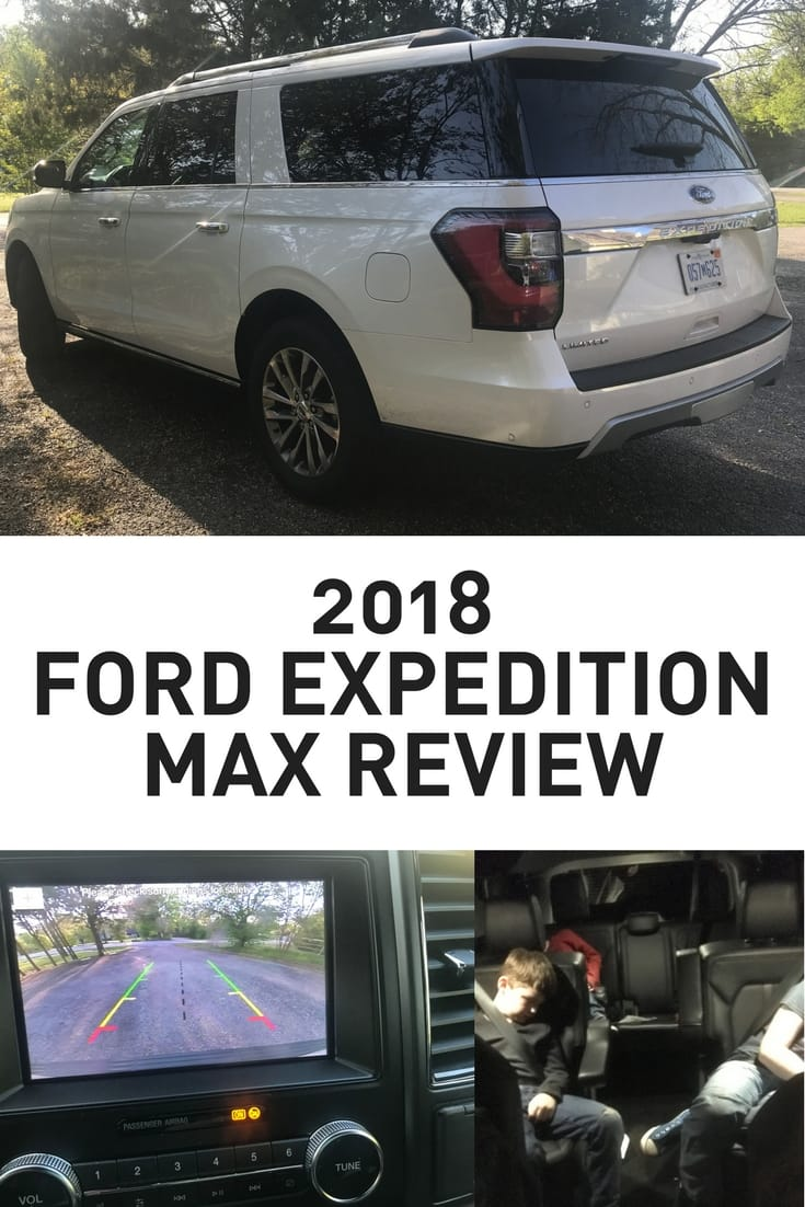 2018 Ford Expedition Max Limited Review White Body Large SUV