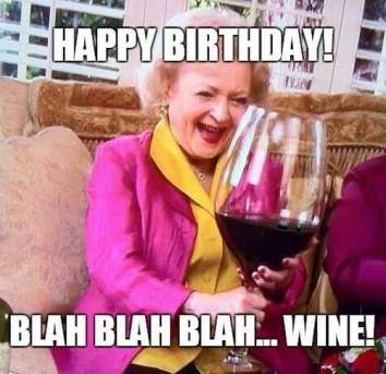 betty white birthday meme