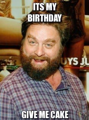 my birthday meme