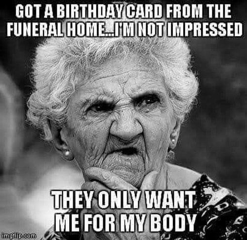 funeral birthday