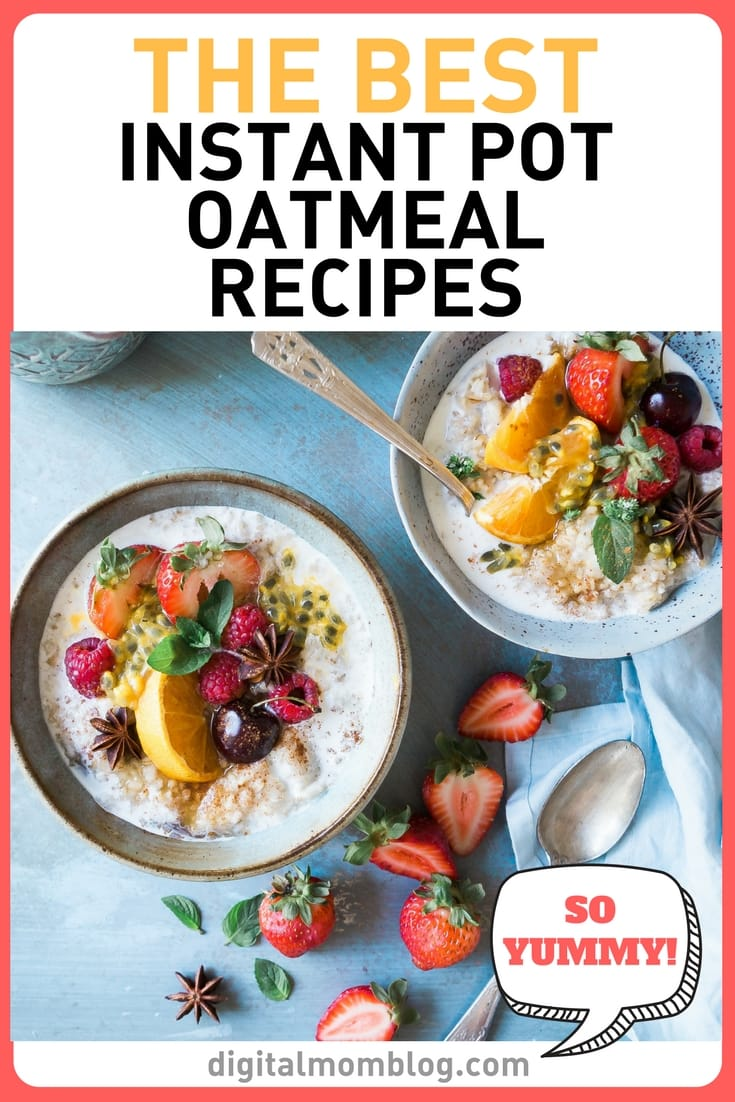 Instant Pot Oatmeal Recipes