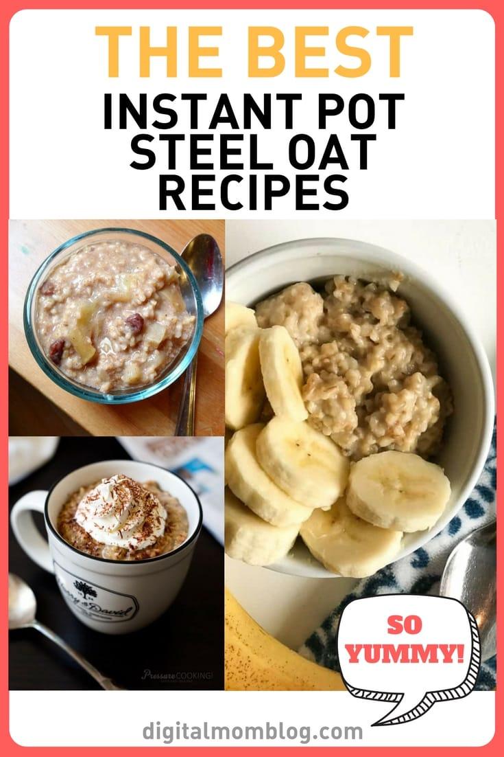 Steel Cut Oats Recipe Instant Pot