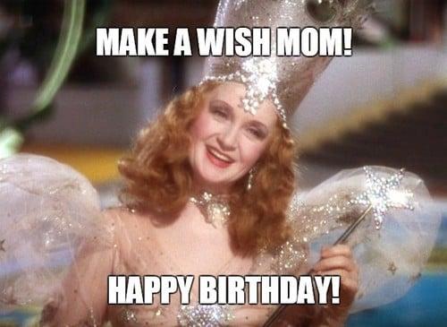 make a birthday wish mom