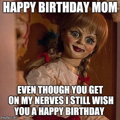 mom birthday meme from kid