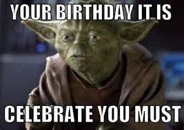 yoda birthday celebrate must