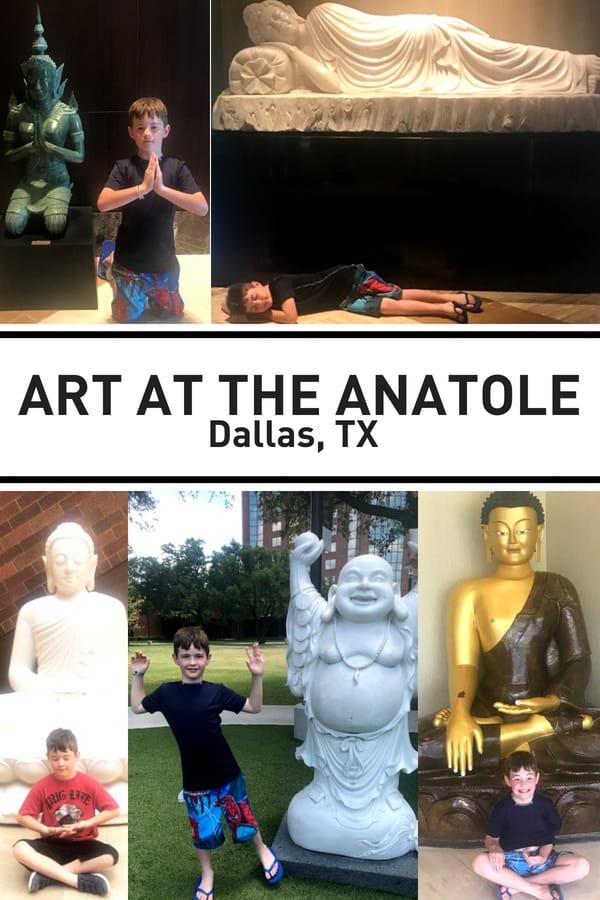 Art at the Hilton Anatole