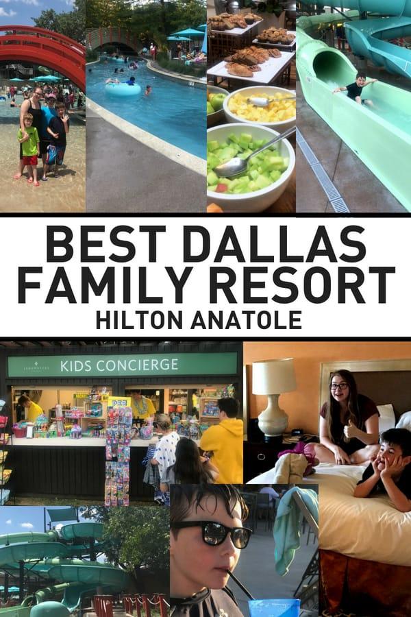 Dallas Staycation Hilton Anatole