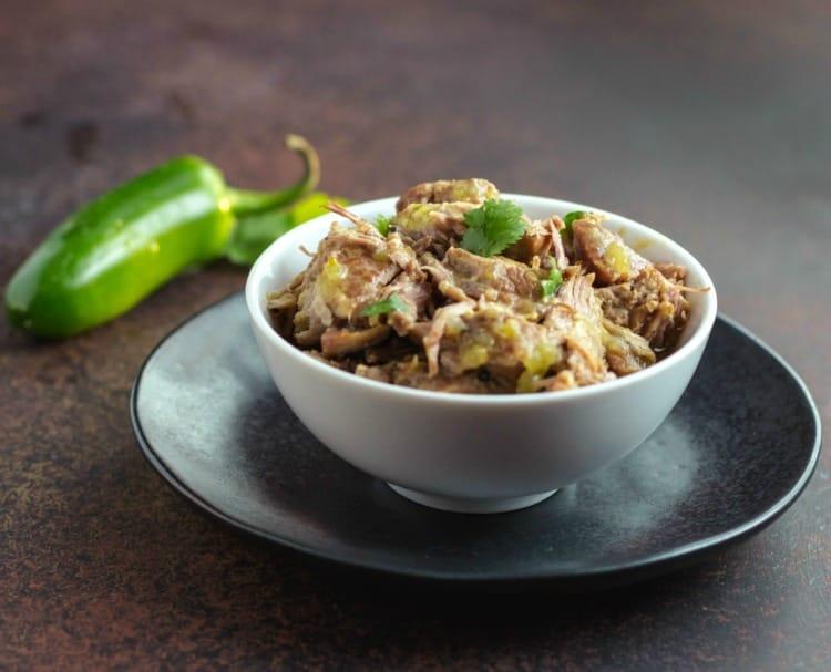 instant pot chili verde keto recipe