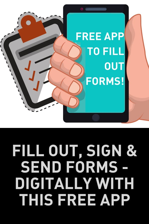 Free Form App digitally sign forms
