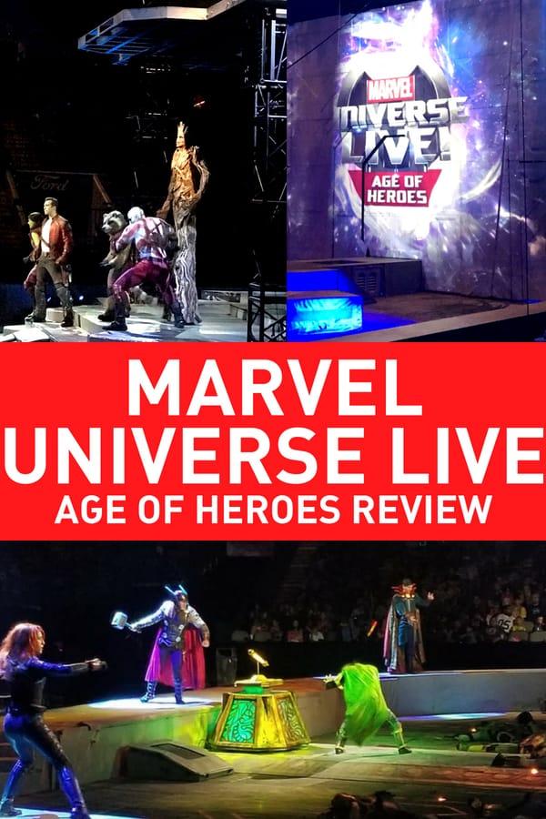 Marvel Universe Live Review 2018