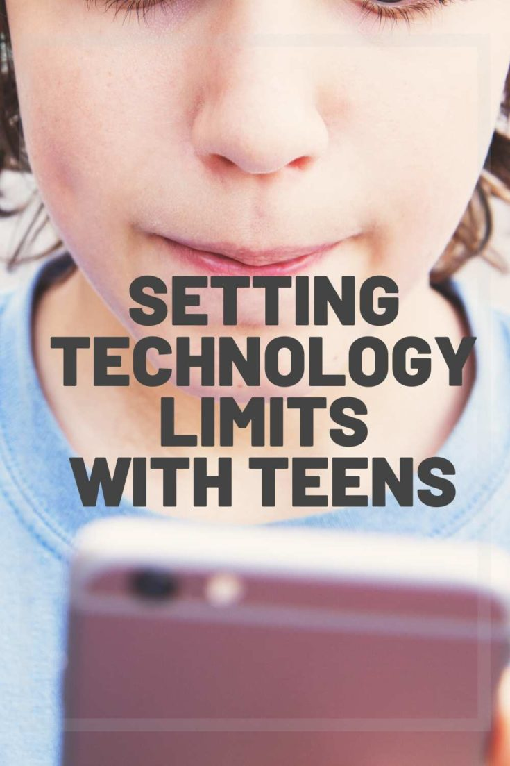 technology limit with teens