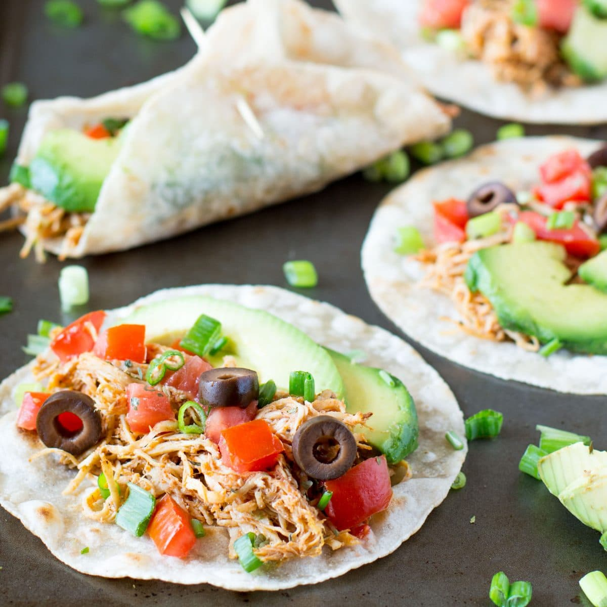 Healthy Chipotle Chicken with healthy sides