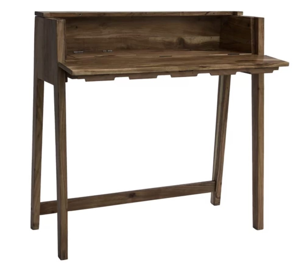 small table or small desk wood modern