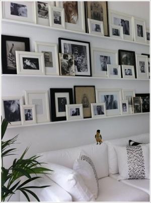 Photo Frams on a Shelp
