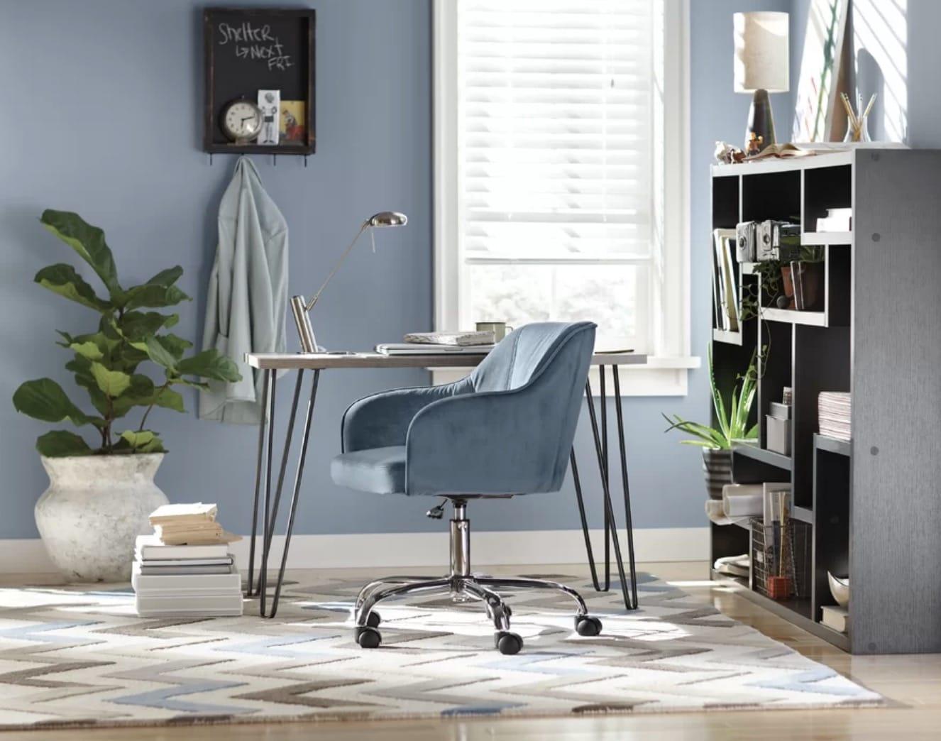 pin leg cheap desk
