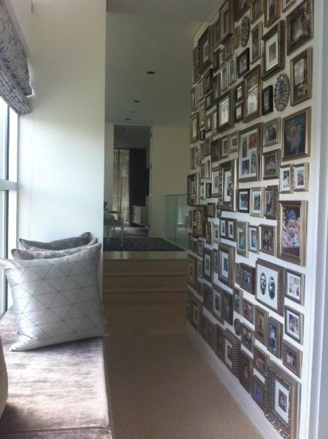 Lots of Photos hallway frames