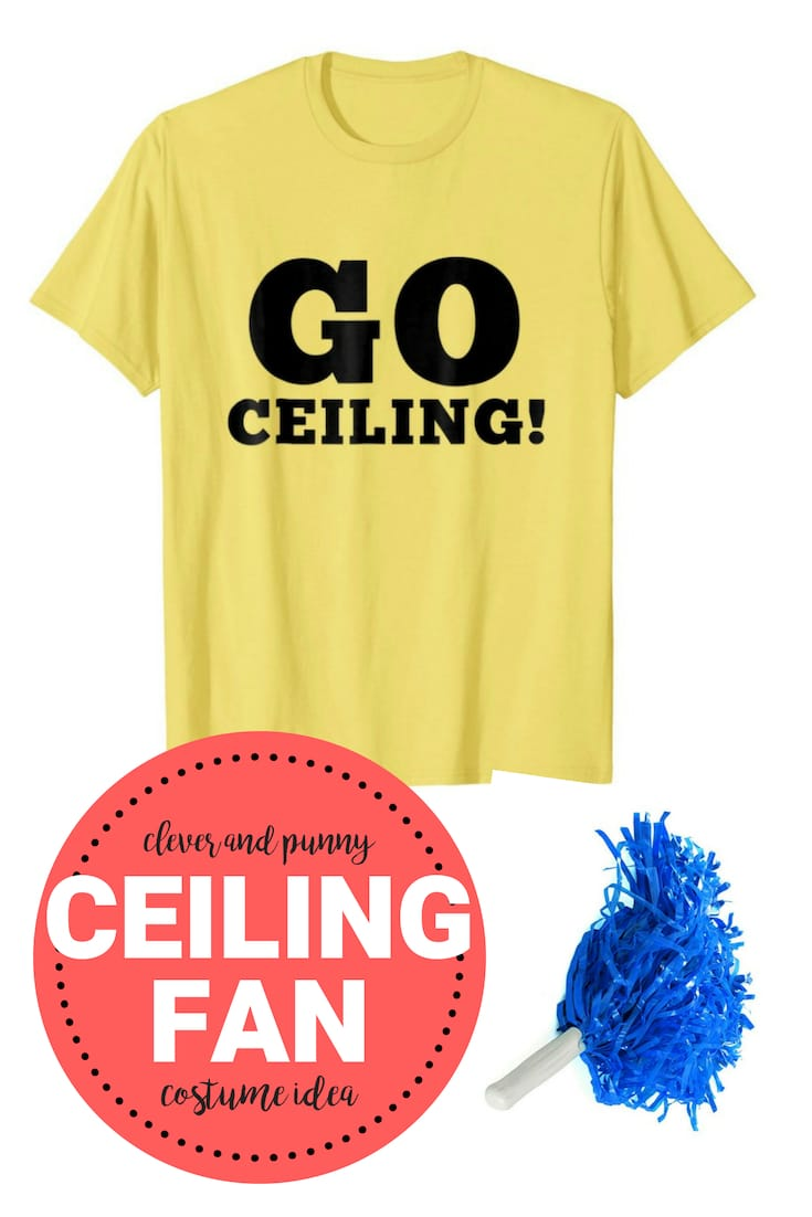 ceiling fan costume shirt ideas