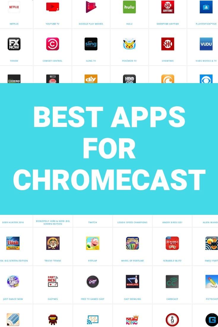 chromecast games apps
