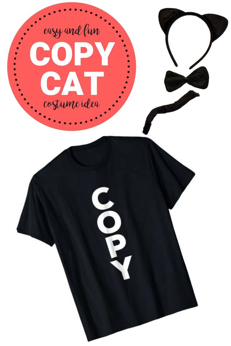 halloween copy cat costume shirt
