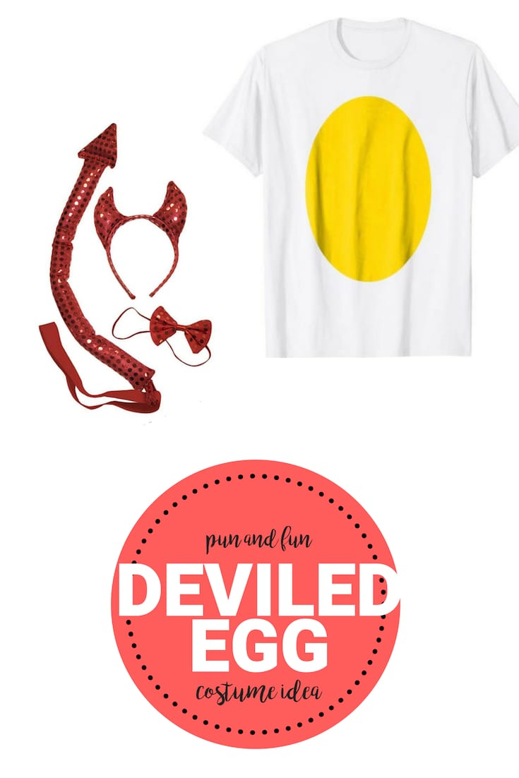 deviled egg costume shirt