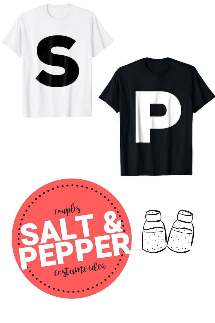 salt pepper couple costume idea