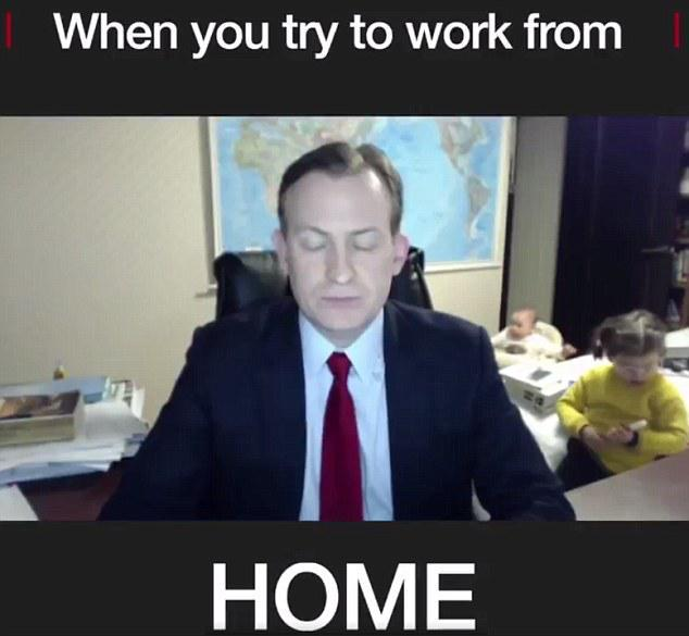 work from home with kids - coronavirus quarantine meme