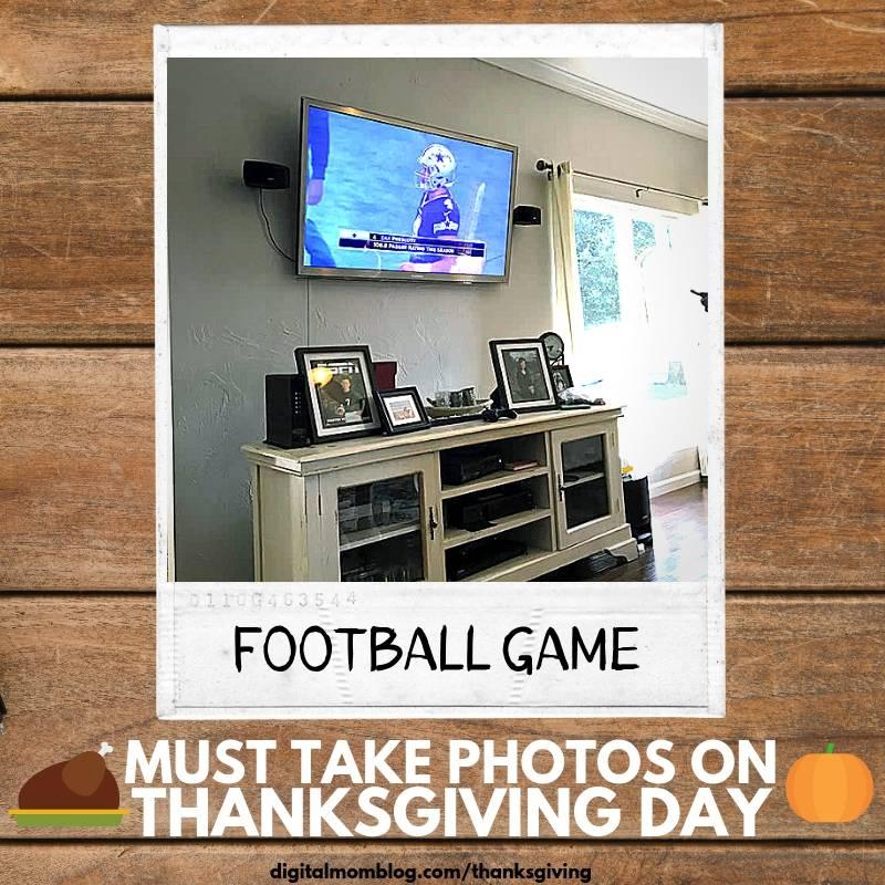 football game on thanksgiving day photos