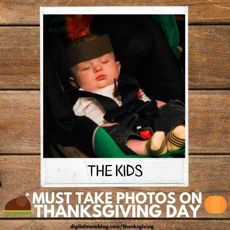 photos of the kids on thanksgiving day