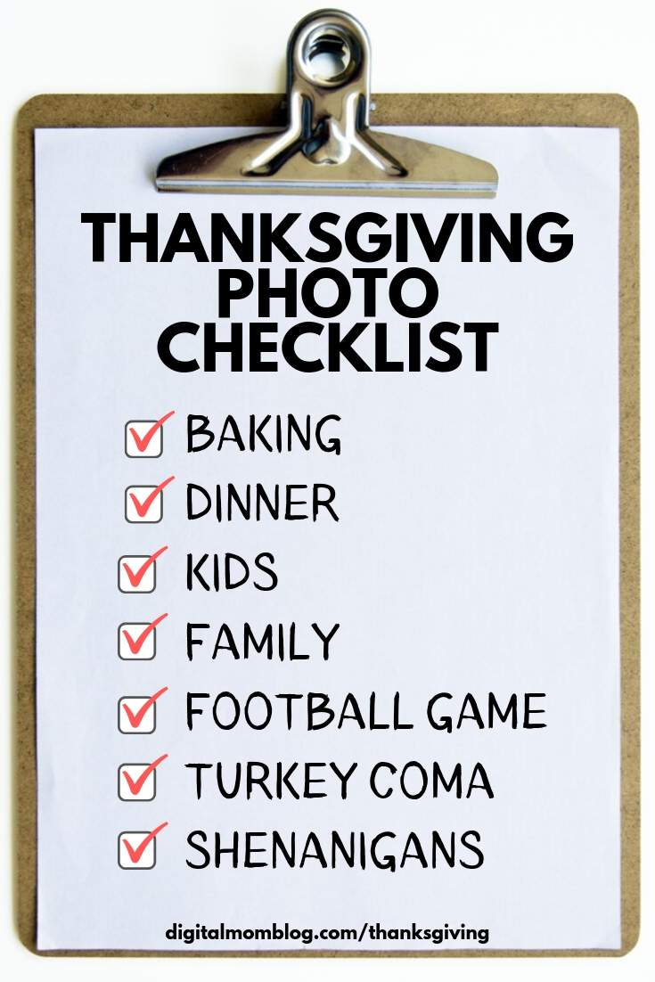 thanksgiving photos to take