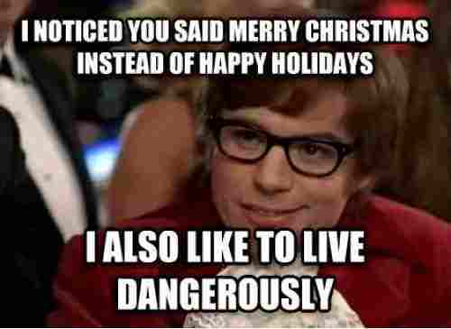 austin powers at christmas